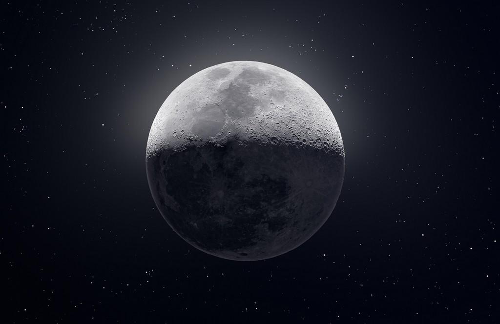 Han sido necesarias 50.000 fotos para capturar esta alucinante imagen de 81 Mpíxeles de la Luna