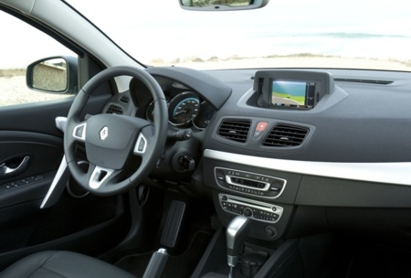 TomTom en un Renault Fluence Z.E.