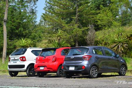Nissan March Vs Hyundai Grand I10 Vs Suzuki Ignis 4