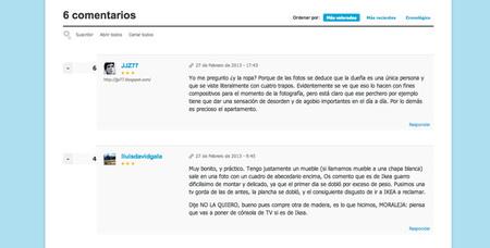 Decoesfera nuevo diseño - comentarios