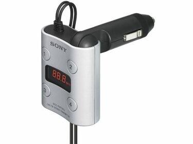 Emisor FM y cargador para los Walkman de Sony