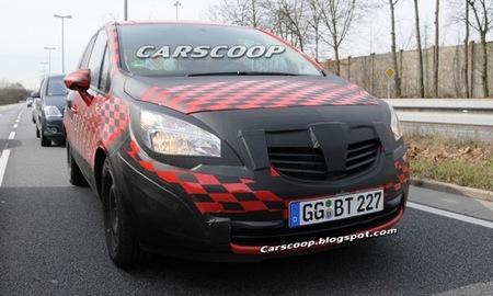 Opel Meriva 2010, fotos espía