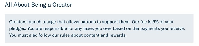 Terms Of Use Patreon