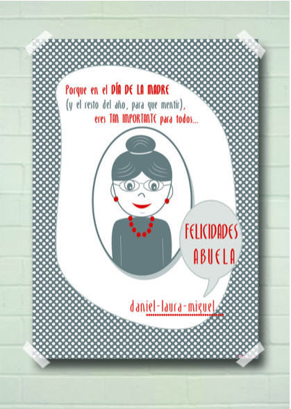 Láminas Dia de la Madre Abuela