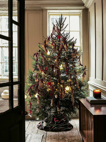 Zara Home Decoracion De La Mesa Para Navidad 4