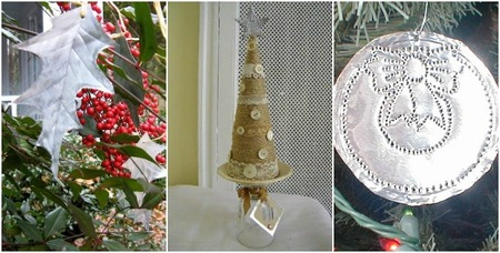 ahorro navidad adornos reciclados