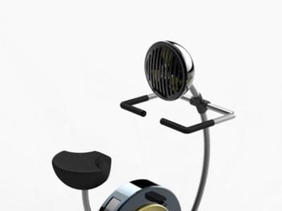 Cycool: bicicleta estática con ventilador