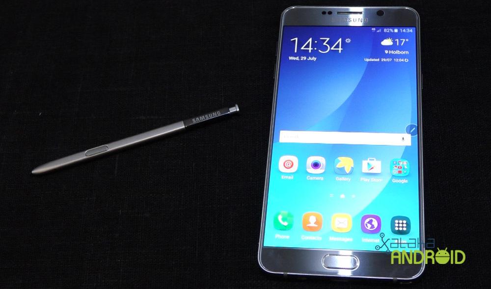 Foto de Samsung Galaxy Note 5 y Galaxy S6 edge+ (9/18)