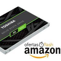Oferta flash: sólo esta tarde, el SSD Toshiba TR200 de 240 GB a precio de chollo en Amazon, por 49,28 euros
