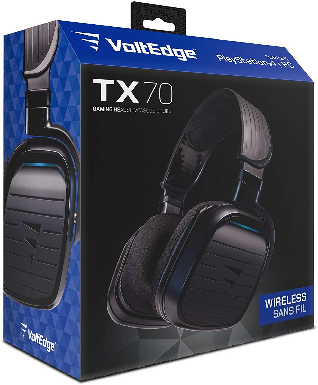 Audífonos inalámbricos para gaming Voltedge TX70 con licencia de PlayStation
