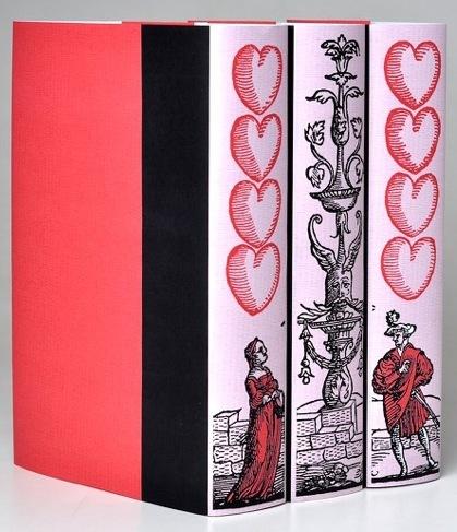 Hazlo tú mismo: cubiertas para libros incluso en San Valentín