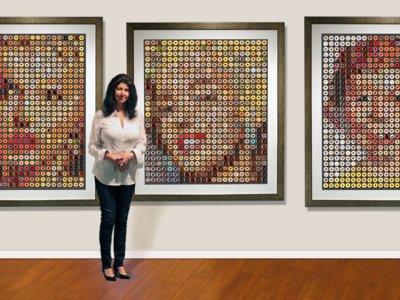 Retratos con donas: una prueba más de que el arte y la gastronomía van de la mano