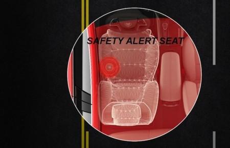 Cadillac Asiento con alerta de seguridad