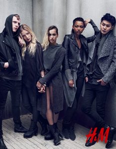 Rebeldía y rock `n´ roll en la nueva colección The Grey Concept de H&M