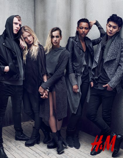 H&M The Grey Concept