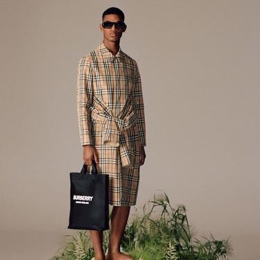 ReBurberry: cuando el futuro de la moda pinta más verde y ecológico que nunca