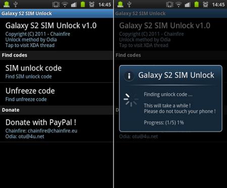 Liberar Samsung Galaxy SII