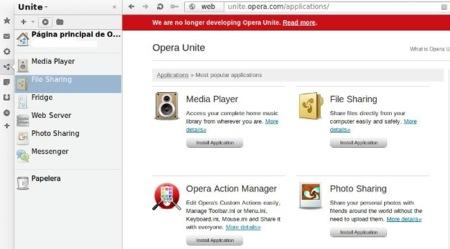 Opera abandona el desarrollo de Unite y los Widgets