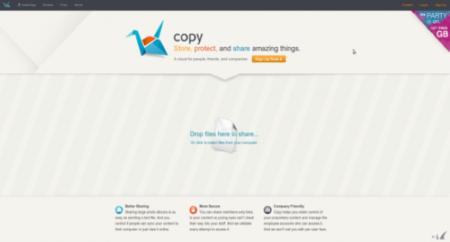 Copy, un servicio de almacenamiento en la nube con buenas expectativas