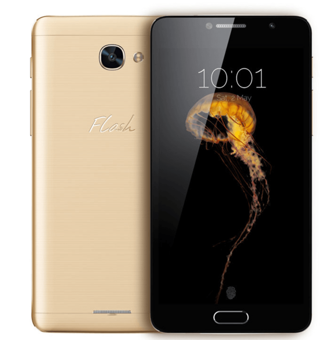 Alcatel Flash 2 Plus, Interchangeable Metal and Removable Battery