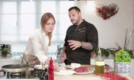 Lo de Chiara Ferragni no tiene barreras: de blogger a chef en una sola cocción