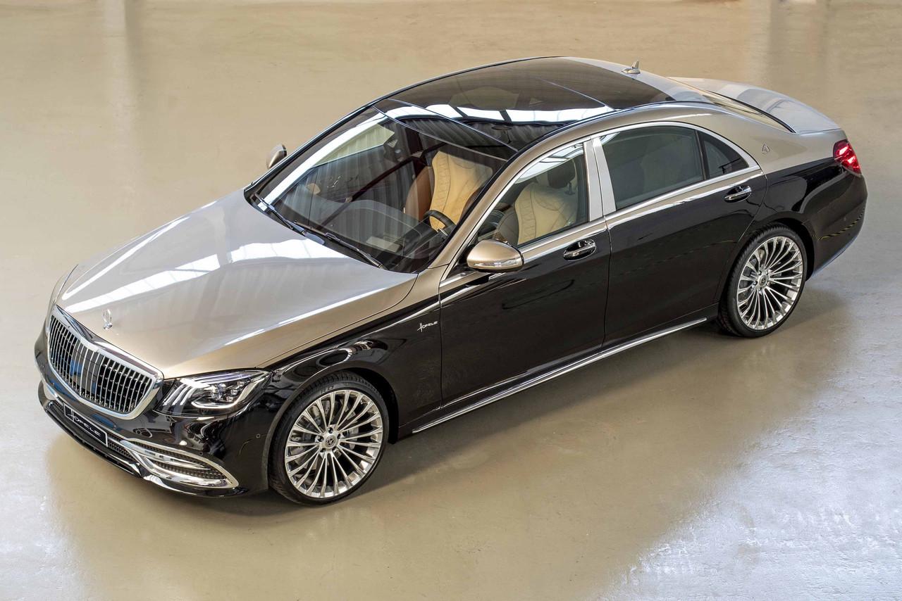 No Es Un Maybach Pero Este Mercedes Benz Clase S De Hofele Es Puro Lujo Y Exclusividad