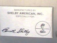 Shelby Inside