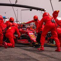 """El Ferrari de Fórmula 1 tiene un grave problema de neumáticos que hundió a Carlos Sainz: """"Lo noté desde el primer día"""""""