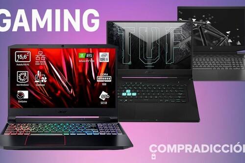 Las ofertas de la semana en portátiles gaming en Amazon: estos 10 modelos de HP y ASUS salen hasta 200 euros más baratos