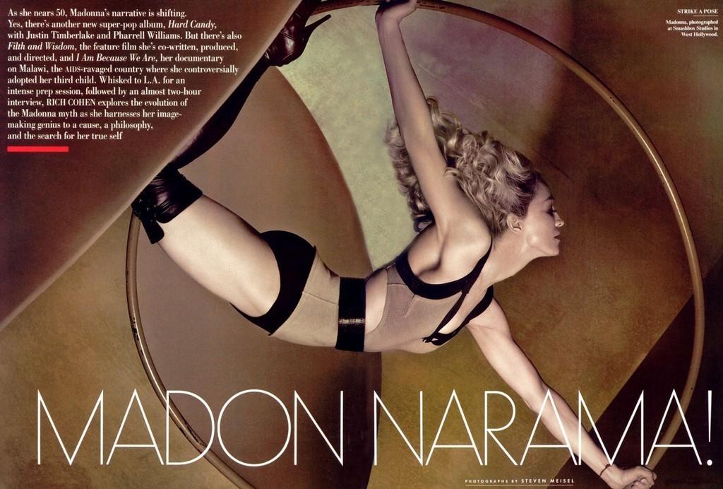 Foto de Madonna en Vainity Fair al completo (3/5)