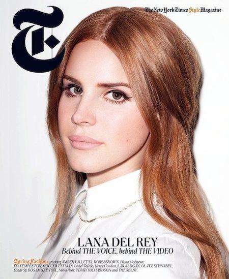 Lana del Rey vuelve de nuevo a ser portada, ¿qué os parece esta vez?