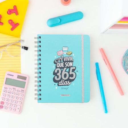 Agenda Rotu 2020-2021 Semana Vista Mr. Wonderful: A vivir que son sólo 365 días