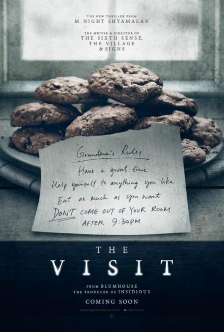 Segundo póster de La Visita (The Visit)