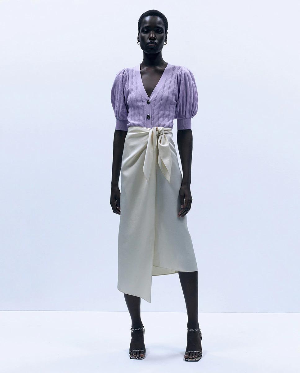 Falda de mujer pareo nudo de Sfera