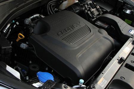 Hyundai Santa Fe, motor CRDi