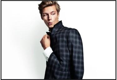 H&M y su tendencia de última hora: los hombres, en blanco y negro, mucho más hombres