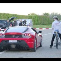 Una bicicleta que corre más que un Ferrari