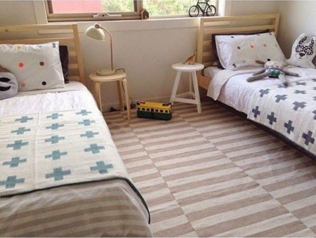 Ni de ni o ni de ni a 21 habitaciones infantiles unisex - Habitacion para 2 ninos ...