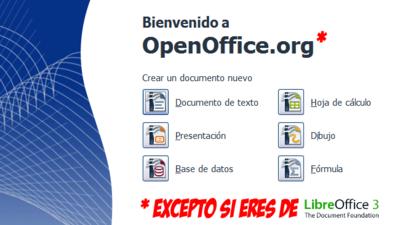 Oracle quiere a los miembros de LibreOffice fuera del consejo de OpenOffice