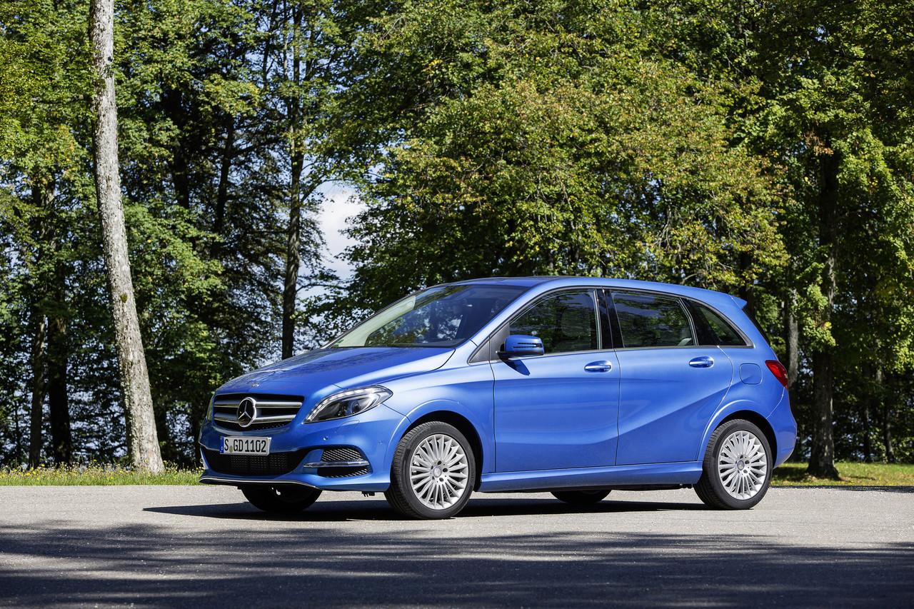 Foto de Mercedes B Electric Drive y B Natural Gas Drive (1/8)