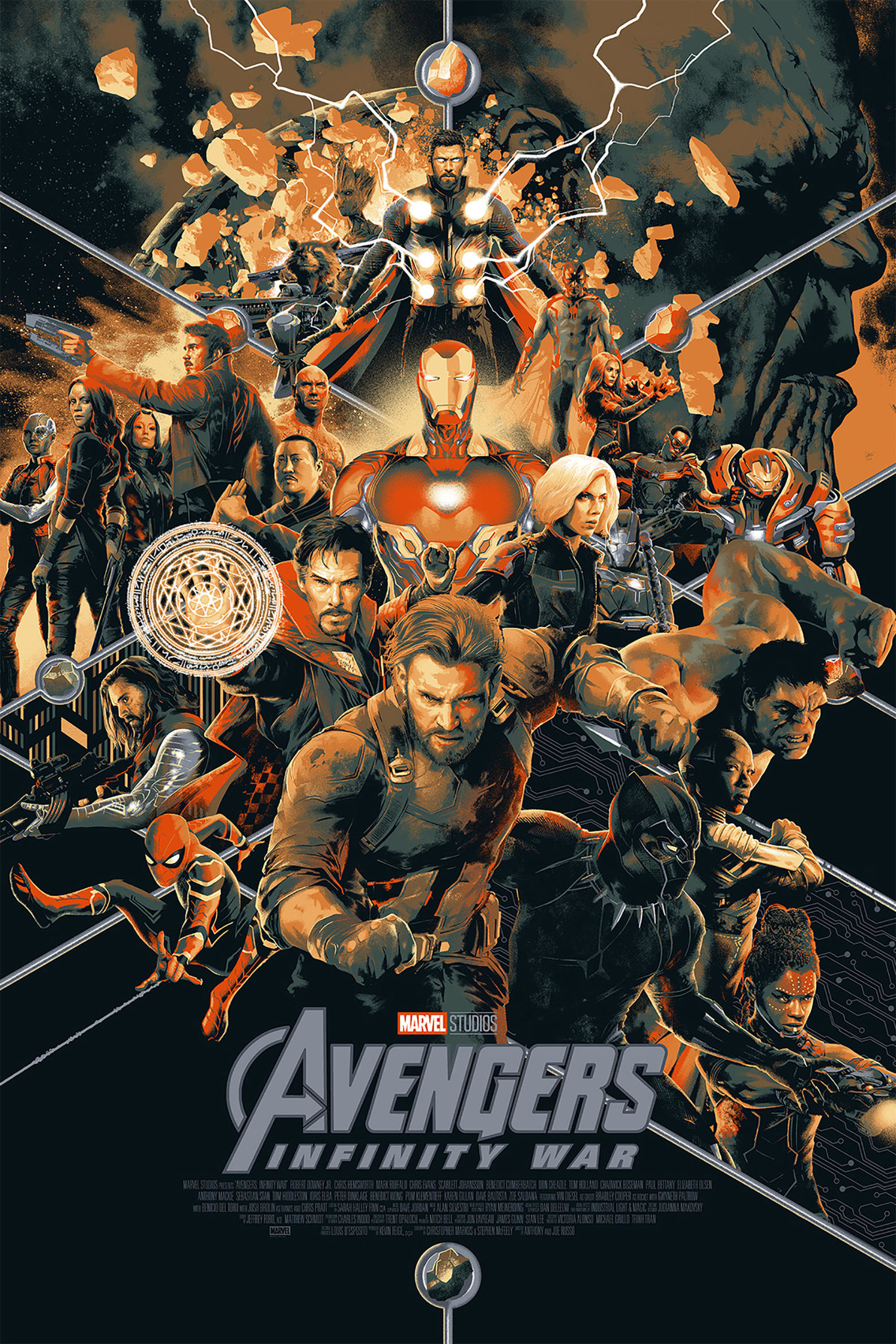 Poster of Infinity War in Comic-Con