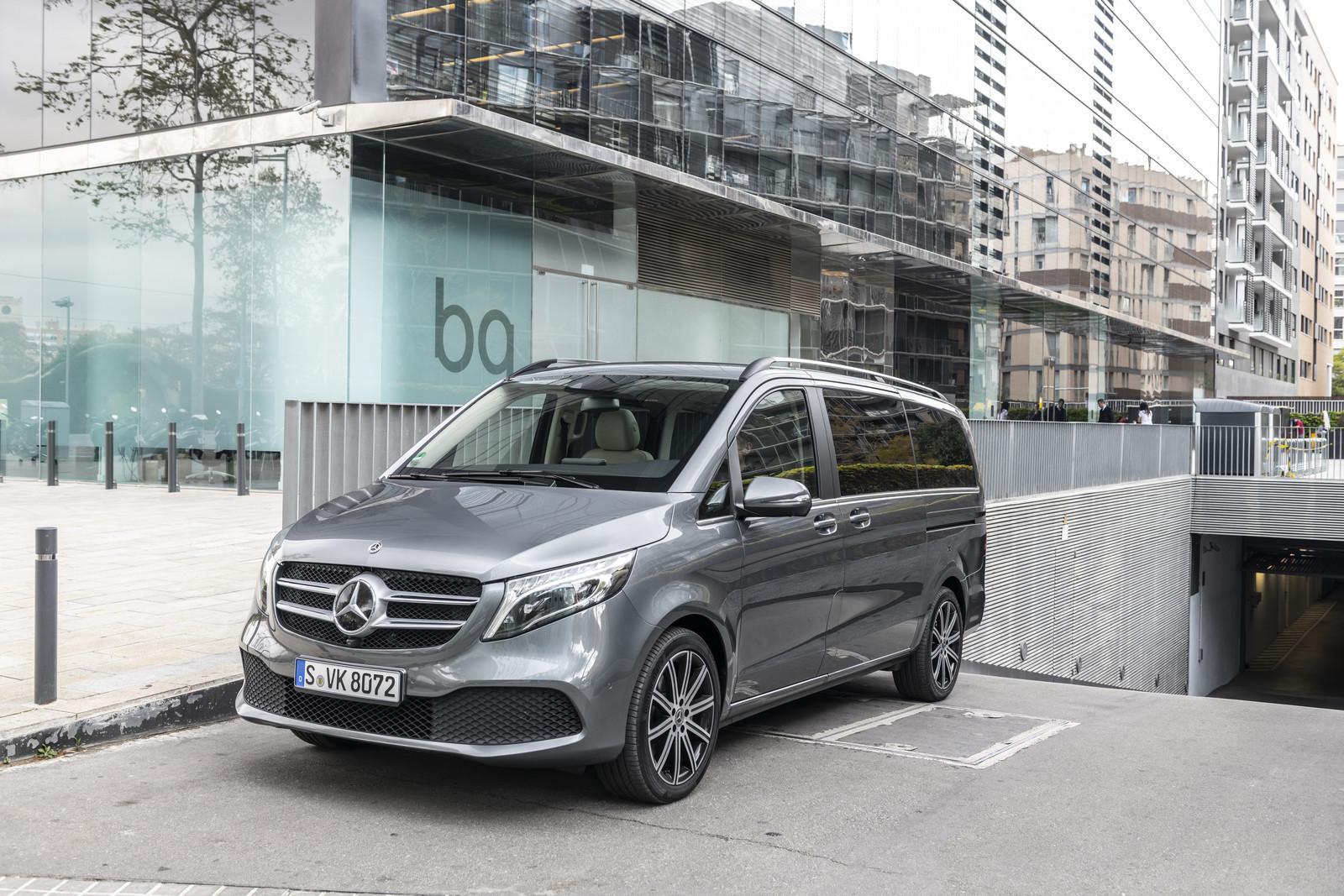 Foto de Mercedes-Benz Clase V 2019 (33/92)
