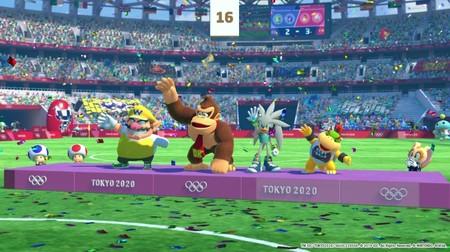 Mario Sonic Juegos Olimpicos Tokyo 2020