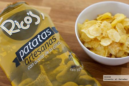 Patatas con aceite de la oliva - 2