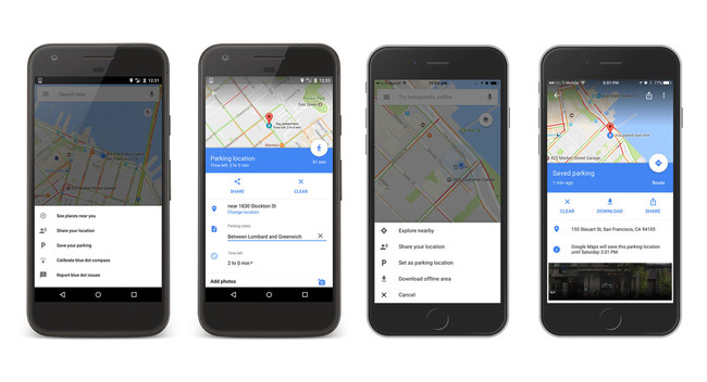 Cómo guardar dónde has aparcado en Google Maps para iOS y Android