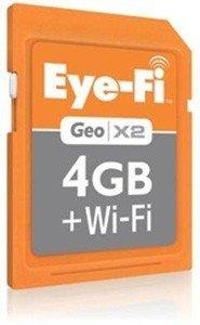 Eye-Fi lanza la Geo X2, un nuevo modelo con geolocalización