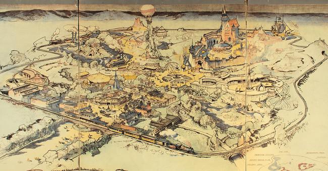 El boceto con el que Walt Disney convenció a los inversores de que Disneyland sería un éxito