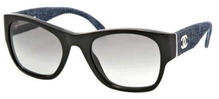 Gafas con patillas vaqueras de Chanel