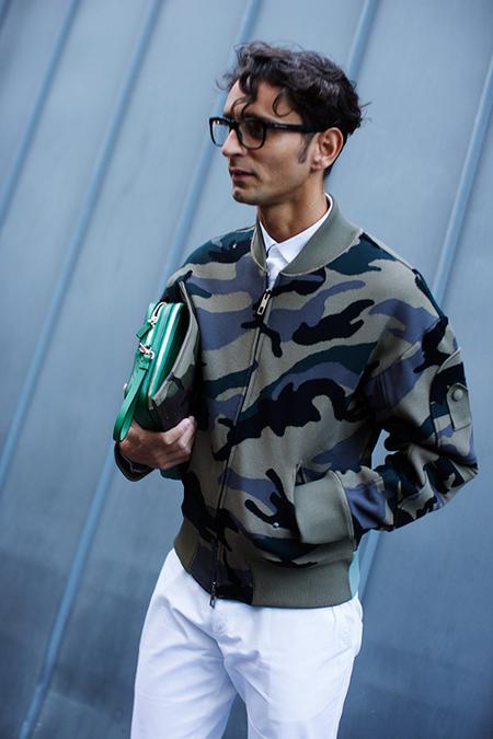 Street Style Camuflaje