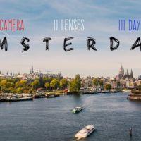 Tres días en un vibrante time-lapse de Ámsterdam